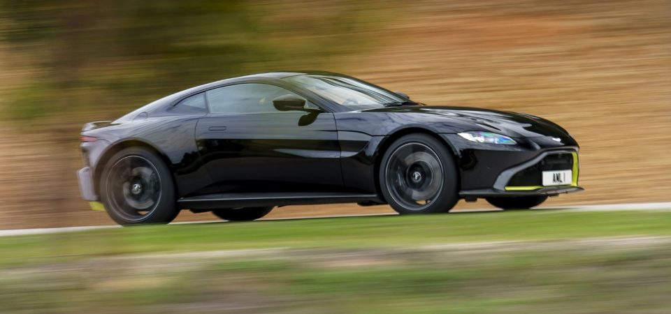 Aston Martin Revealed its first Electric Sedan