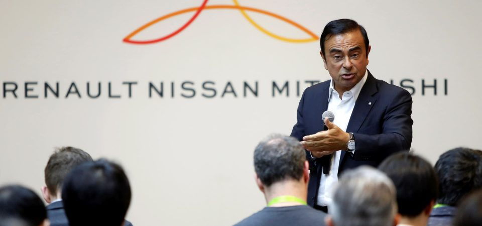 Carlos Ghosn, Head of Nissan, Renault and Mitsubishi Motors Out on 1 Billion Yen Bail