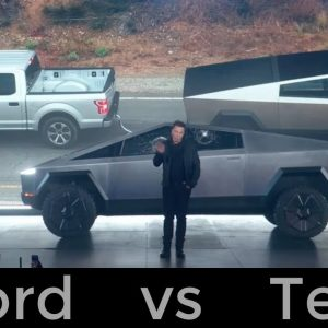 Nothing to prove to Tesla in F-150 vs Cybertruck tow battle: Ford