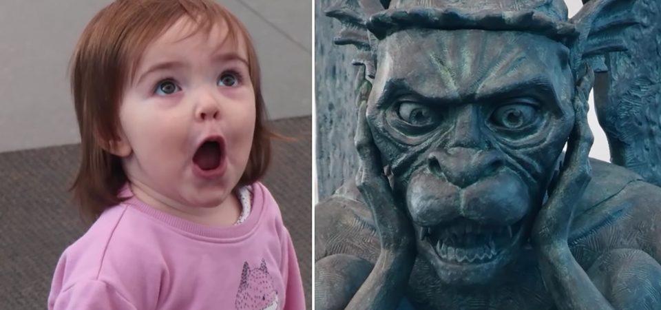 Travellers Surprised Seeing Talking Gargoyle at Denver's International Airport