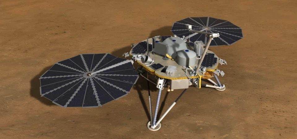 NASA's InSight Probe to Achieve Milestone of adding Protective Hat