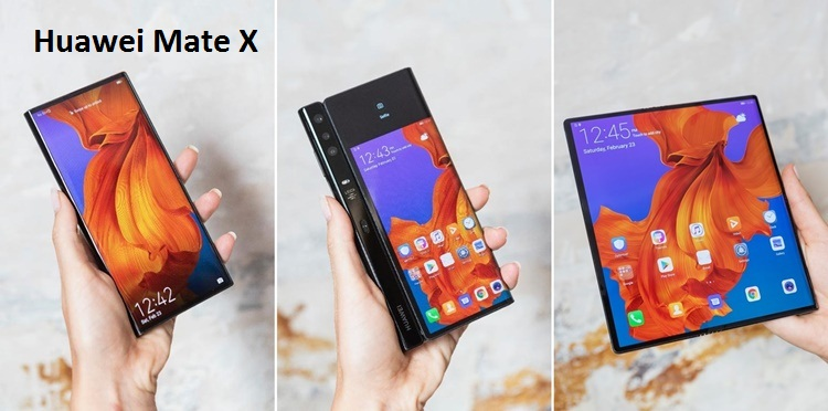 Huawei to Unveils Mate X Foldable 5G Phone