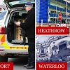 Police Found 3 Explosive Devices at Heathrow, London City Airports and Waterloo Station